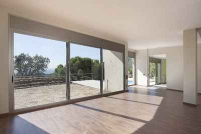 New designer house with sea view outside of Barcelona